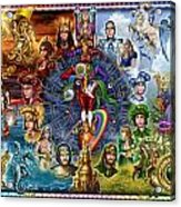 Tarot Of Dreams Acrylic Print by Ciro Marchetti