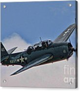 Tbm-3 Avenger Acrylic Print by Tommy Anderson