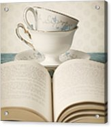 Tea For Two Acrylic Print by Amy Weiss