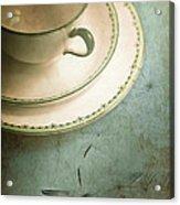 Tea Time Acrylic Print by Jan Bickerton