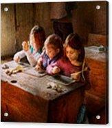 Teacher - Classroom - Education Can Be Fun  Acrylic Print by Mike Savad