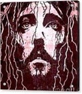 Tears Of Jesus Acrylic Print by Mike Grubb
