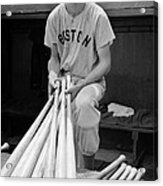 Ted Williams Acrylic Print by Gianfranco Weiss