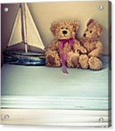 Teddy Bears Acrylic Print by Jan Bickerton