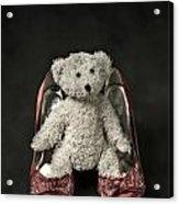 Teddy In Pumps Acrylic Print by Joana Kruse