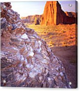 Temple Of The Sun Acrylic Print by Ray Mathis