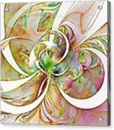 Tendrils 06 Acrylic Print by Amanda Moore