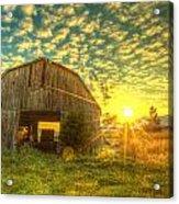 Tennesee Sunrise Acrylic Print by  Caleb McGinn