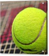 Tennis Anyone... Acrylic Print by Kaye Menner