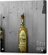 Tequila And Vino Tinto Acrylic Print by Cheryl Young