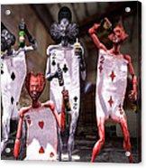 Terrible Twos Or Deuces Wild  Acrylic Print by Bob Orsillo
