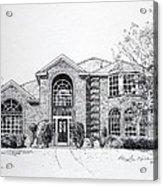 Texas Home 2 Acrylic Print by Hanne Lore Koehler