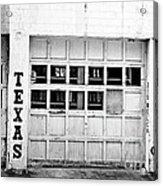 Texas Junk Co. Acrylic Print by Scott Pellegrin