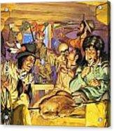 Thanksgiving Acrylic Print by Angus McBride