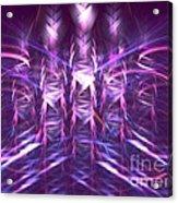 Thatch Acrylic Print by Kim Sy Ok