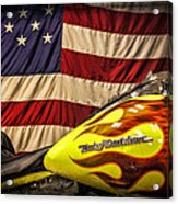 The American Ride Acrylic Print by Jeff Swanson