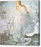 The Angel Of Life Acrylic Print by Giovanni Segantini