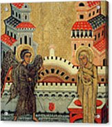 The Annunciation Acrylic Print by Fedusko of Sambor