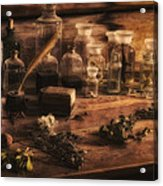 The Apothecary Acrylic Print by Priscilla Burgers