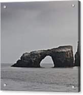 The Arch At Anacapa Island Acrylic Print by Mitch Shindelbower
