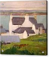 The Artists Studio Iona Acrylic Print by Francis Campbell Boileau Cadell