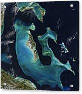 The Bahamas Acrylic Print by Adam Romanowicz