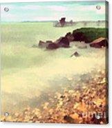 The Balaton Shore Acrylic Print by Odon Czintos