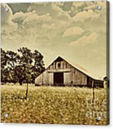 The Barn 2 Acrylic Print by Cheryl Young