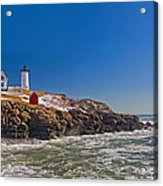 The Beauty Of Nubble Acrylic Print by Joann Vitali
