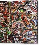 The Beheading Of Creative Impulse Part 2 Acrylic Print by Michael Kulick