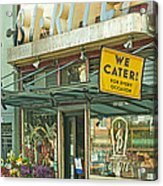 The Bi Rite In San Francisco Acrylic Print by Artist and Photographer Laura Wrede