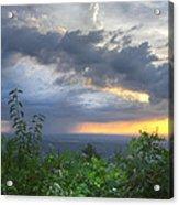 The Blue Ridge Mountains Acrylic Print by Debra and Dave Vanderlaan