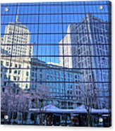 The Boston Skyline Acrylic Print by JC Findley