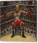 The Boxer Acrylic Print by Richard Wandell