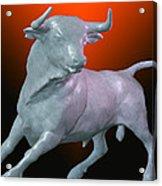 The Bull... Acrylic Print by Tim Fillingim