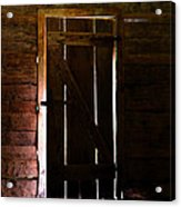 The Cabin Door Acrylic Print by David Lee Thompson