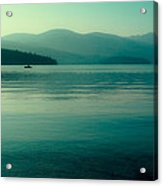 The Calmness Of Priest Lake Acrylic Print by David Patterson