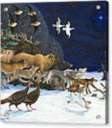 The Christmas Star Acrylic Print by Lynn Bywaters