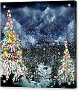 The Christmas Tree Acrylic Print by Boon Mee