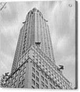 The Chrysler Building Acrylic Print by Mike McGlothlen