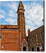 The Church Of Saint Martin Acrylic Print by Peter Tellone