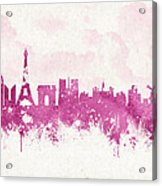 The City Of Love Acrylic Print by Aged Pixel