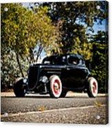 The Classic Hot Rod Acrylic Print by motography aka Phil Clark
