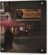 The Color Purple Acrylic Print by Linda Unger