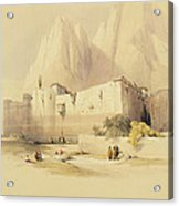 The Convent Of St. Catherine Acrylic Print by David Roberts