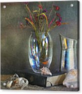 The Crystal Vase Acrylic Print by Diana Angstadt