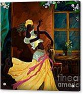 The Dancer Act 1 Acrylic Print by Bedros Awak