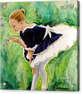 The Dancer Acrylic Print by Sheila Diemert