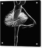 The Dancer Acrylic Print by Steve K