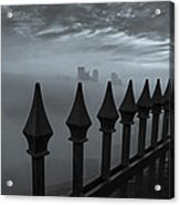The Dark Night Acrylic Print by Jennifer Grover